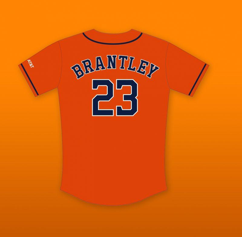 Michael Brantley Orange Replica Jersey