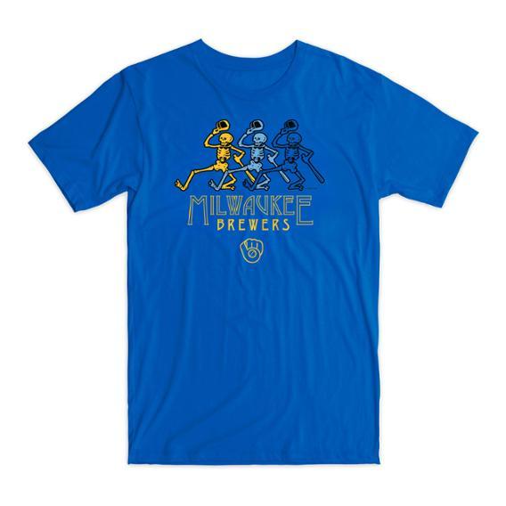 Milwaukee Brewers - Grateful Dead™ Tribute Night Shirt