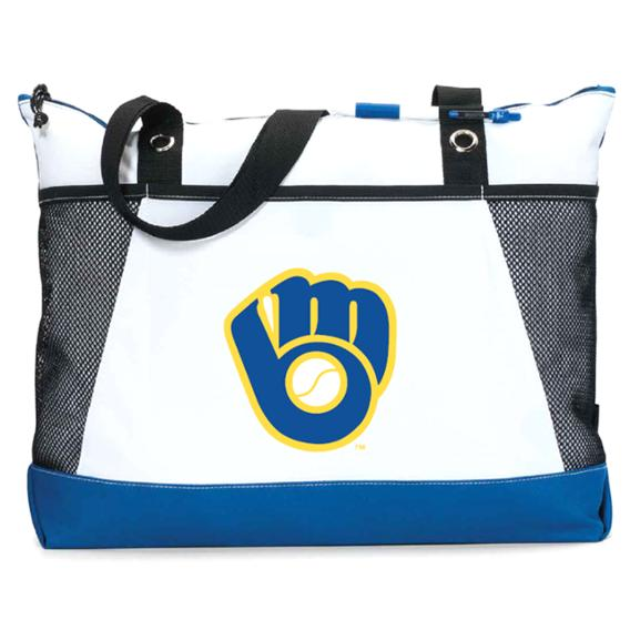 Milwaukee Brewers – Stitch 'N Pitch Tote Bag