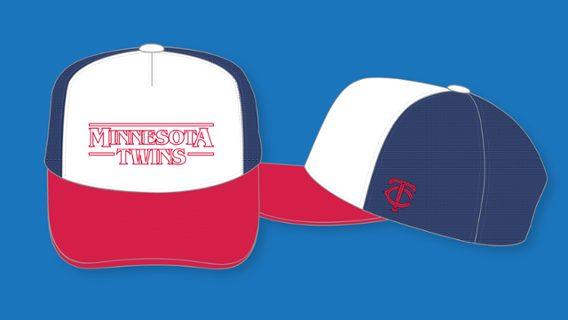 Minnesota Twins - Stranger Things Cap