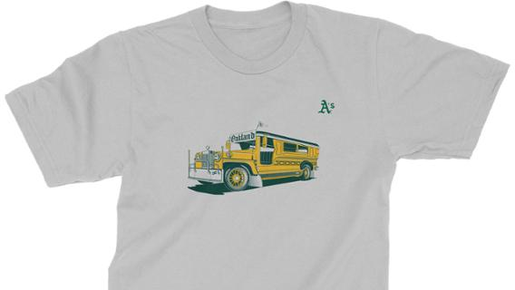 Oakland Athletics - Filipino Heritage Night Shirt