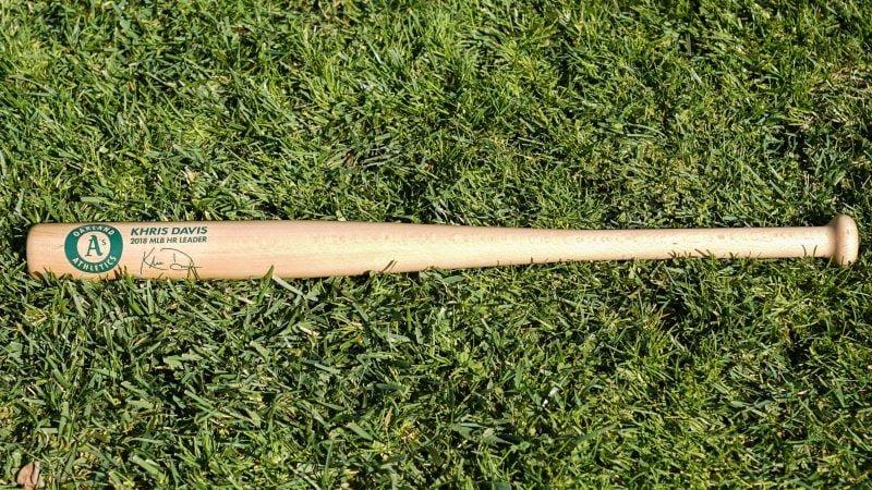 Khris Davis Bat
