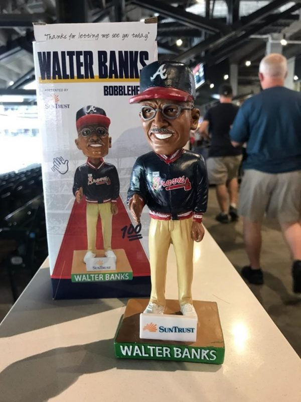 Atlanta Braves – Walter Banks Bobblehead