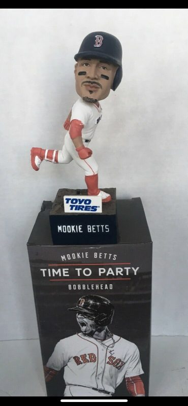 Boston Red Sox Mookie Betts Time to Party Bobblehead