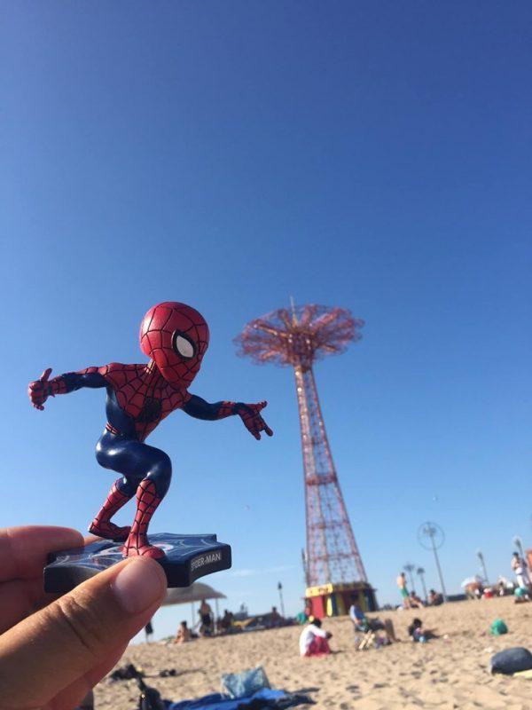 Brooklyn Cyclones Spiderman Bobblehead