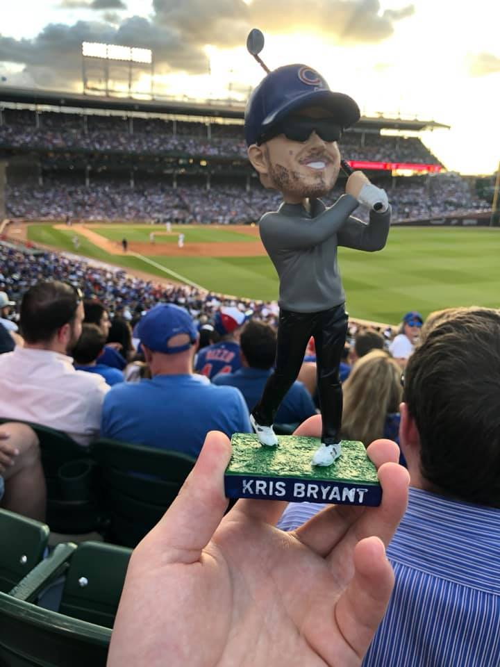 Chicago Cubs – Kris Bryant Round of Golf Bobblehead