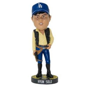 Los Angeles Dodgers - Hyun Solo Bobblehead