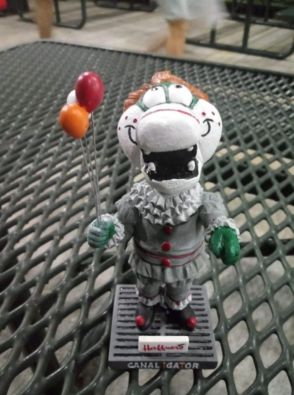 Lowell Spinners Canaligator IT Bobblehead