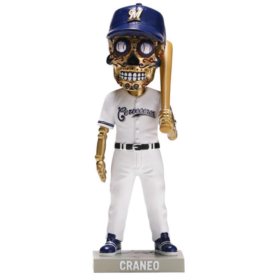 various colors f3b42 82c95 July 13, 2019 Milwaukee Brewers - Cerveceros Sugar Skull ...