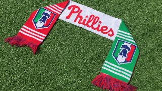 Philadelphia Phillies - Italian Heritage Night Scarf
