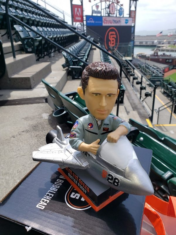 San Francisco Giants - Top Gun Bobblehead