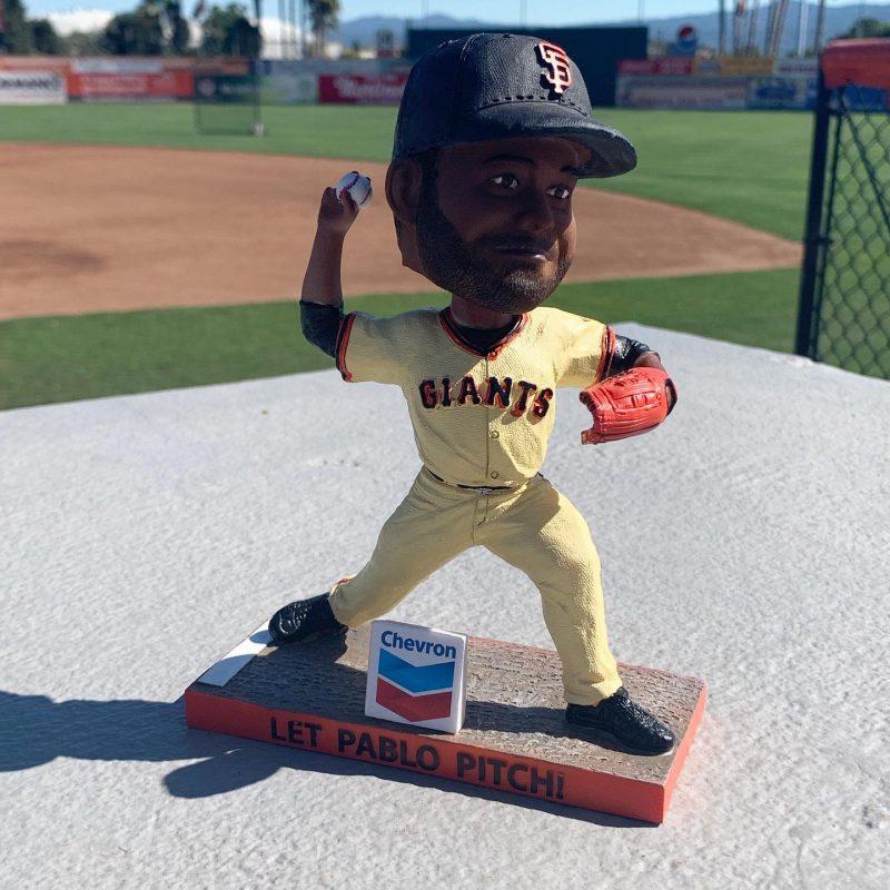 San Jose Giants  Let Pablo Pitch San Francisco Giants Bobblehead