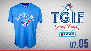Toronto Blue Jays George Bell Powder Blue Replica Jersey
