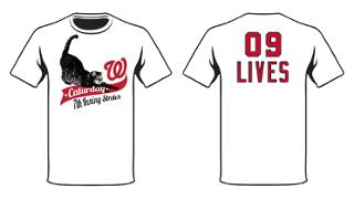 Washington Nationals – Nats Cats Themed Shirt
