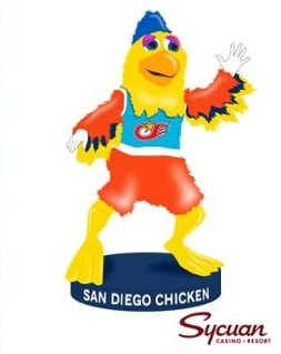 San Diego Chicken Bobblehead