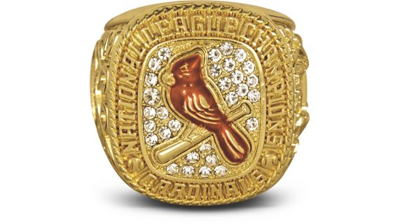 2004 Mystery Player National League Champions Ring