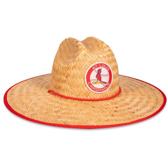 St Louis Cardinals - Large Brim Straw Hat