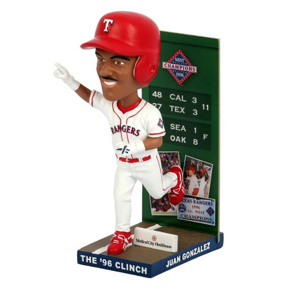 The 96 Clinch Juan Gonzalez Bobblehead