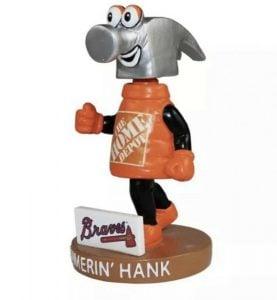 Atlanta Braves Hammerin Hank Bobblehead