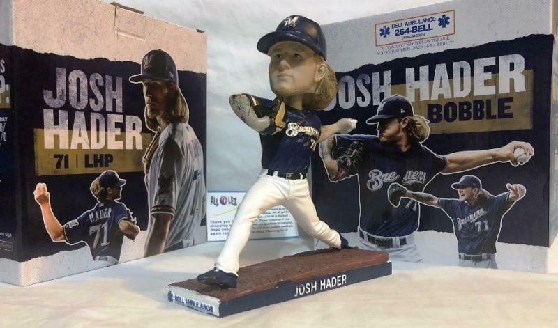 Milwaukee Brewers Josh Hader Bobblehead