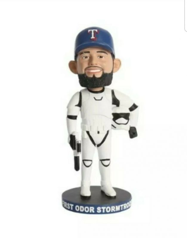 Texas Rangers First Odor Stormtrooper Bobblehead