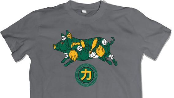 Oakland Athletics – Chinese Heritage Night Shirt
