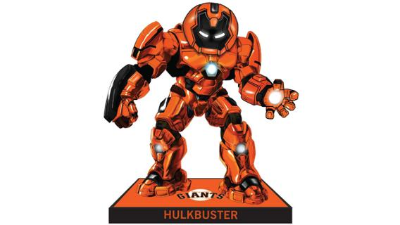 San Francisco Giants - Hulkbuster Bobblehead