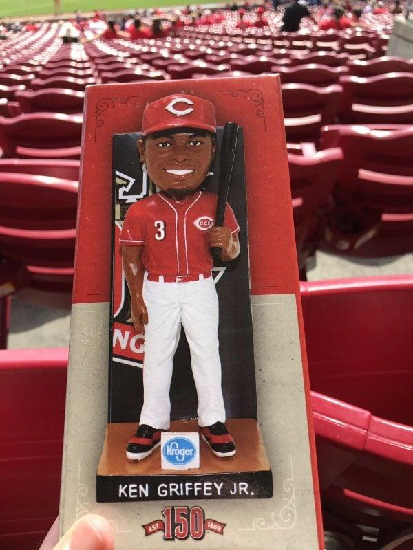 Cincinnati Reds – Ken Griffey Jr. 150 Series Bobblehead