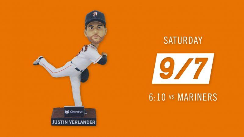 Houston Astros – Justin Verlander Bobblehead