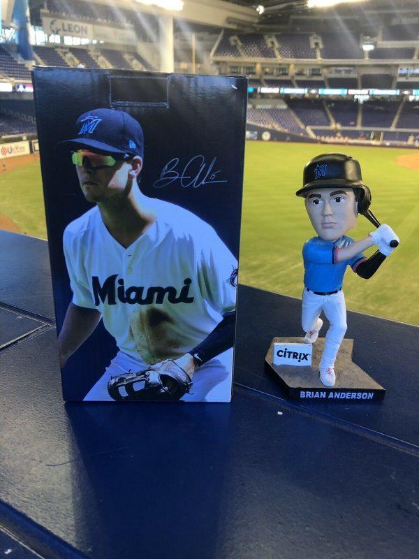 Miami Marlins – Brian Anderson Bobblehead