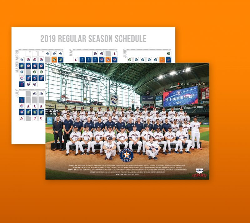 Astros - Team Poster