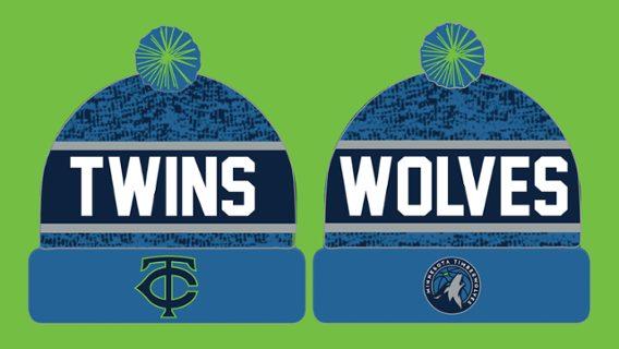 Minnesota Twins - Timberwolves Beanie