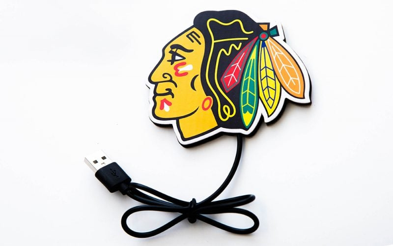 BLACKHAWKS WIRELESS CHARGER