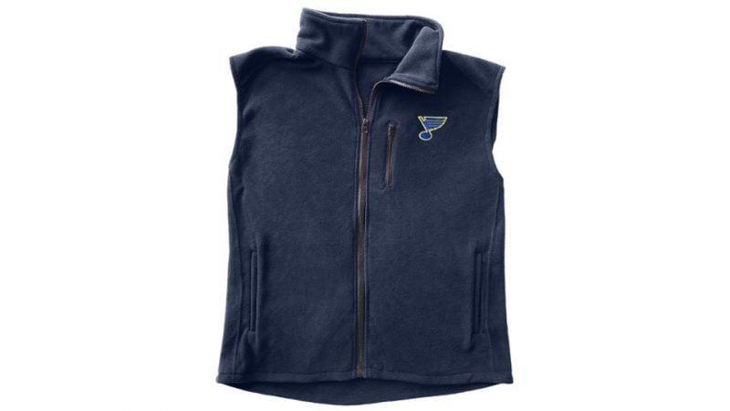 Blues Fleece Vest