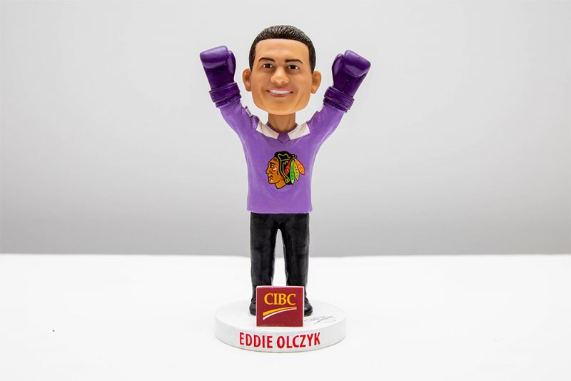 Chicago Blackhawks EDDIE OLCZYK BOBBLEHEAD