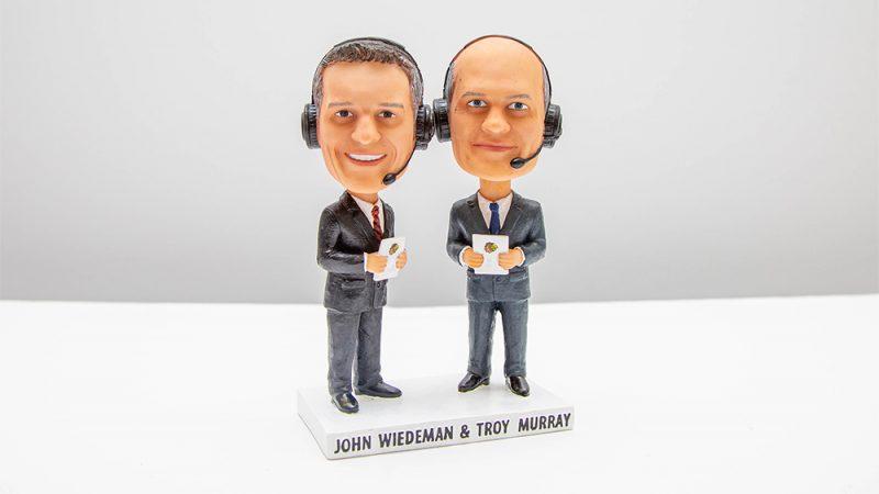 JOHN WIEDEMAN & TROY MURRAY BOBBLEHEAD