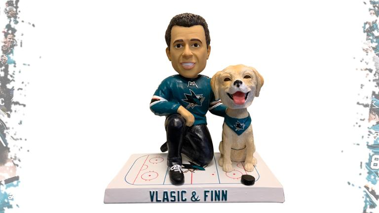 San Jose Sharks Finn and Vlasic Bobblehead