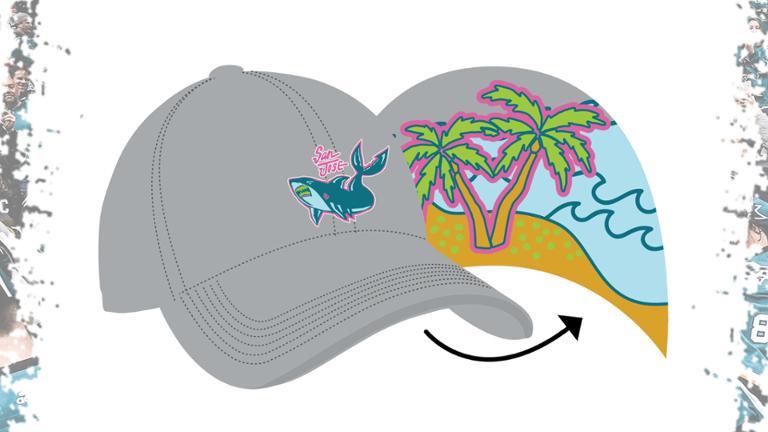 San Jose Sharks - Graffiti Shark hat