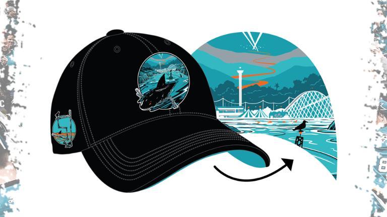 San Jose Sharks - Open Water Hat