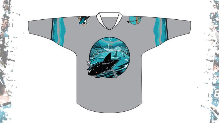 San Jose Sharks - Open Water Shirsey