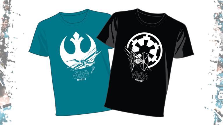 San Jose Sharks - Star Wars T-Shirt
