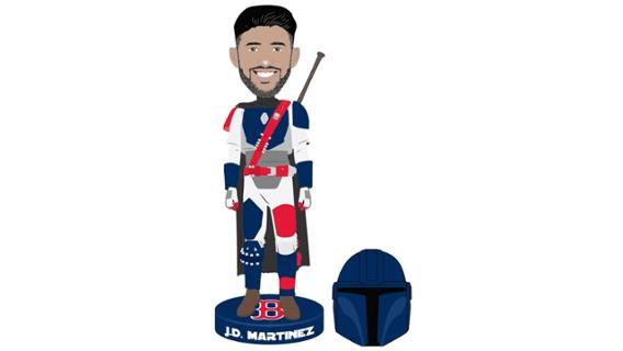Boston Red Sox - Mandalorian JD Bobblehead