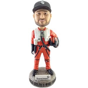 Chicago White Sox - Lucas Giolito X-Wing Fighter Bobblehead