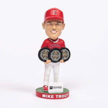 Los Angeles Angels Trout 3x MVP Bobblehead - 2020 Boston Red Sox Promotional & Giveaway Schedule