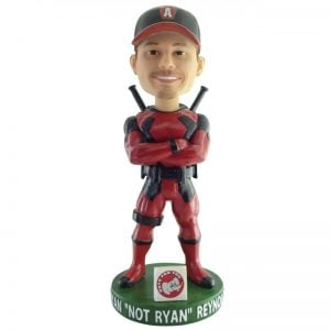 Altoona Curve Bryan Not Ryan Reynolds Bobblehead