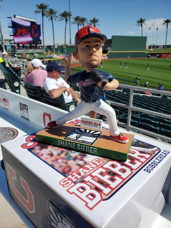 Cleveland Indians – Shane Bieber Bobblehead