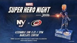 New York Islanders - Iron Man Bobblehead