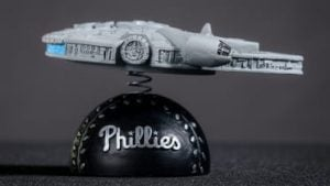 Philadelphia Phillies - Millennium Falcon Bobble