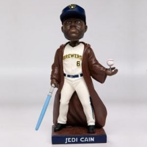Milwaukee Brewers – Lorenzo Cain Jedi bobblehead