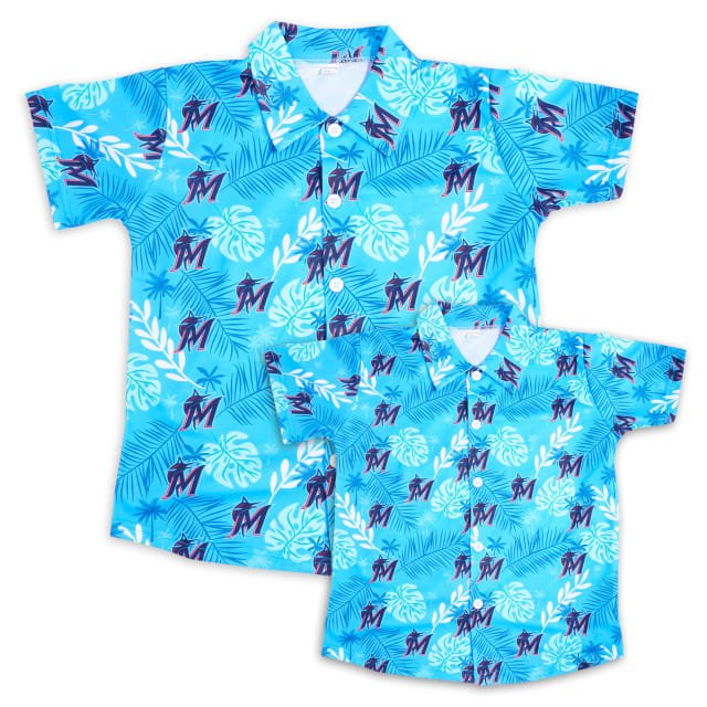 Miami Marlins Tropical Shirt